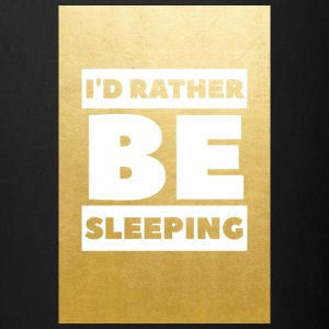 Id rather be sleeping (gold) - Full Color Mug