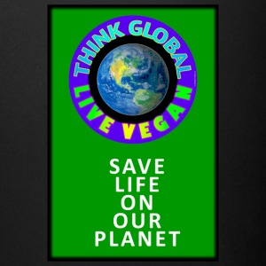 LIVE VEGAN. THINK GLOBAL. - Full Color Mug