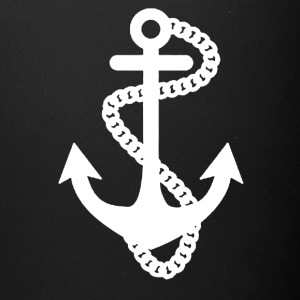 ANCHOR SAILOR CROSS TOP NAUTICAL RETRO TATTOO - Full Color Mug