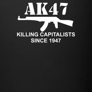 AK47 funny political weapons cool retro rude - Full Color Mug
