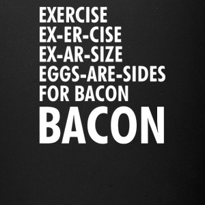 Exercise Bacon Funny - Full Color Mug