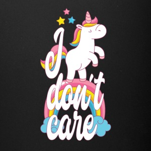 I don´t care - unicorn - Full Color Mug