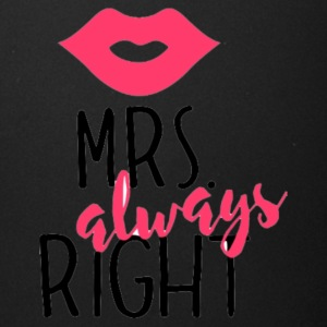 Mrs. always Right - Full Color Mug