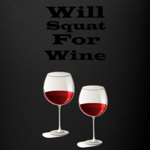 Will squat for wine - Full Color Mug