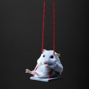 Mouse On A Swing - Full Color Mug