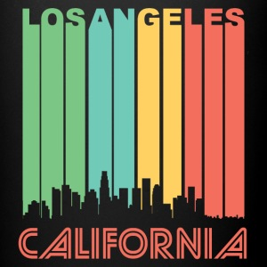 Retro Los Angeles Skyline - Full Color Mug