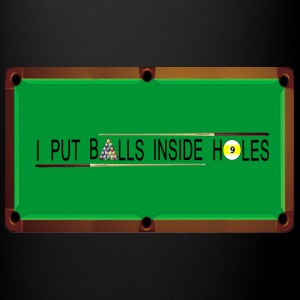 billiards table - Full Color Mug