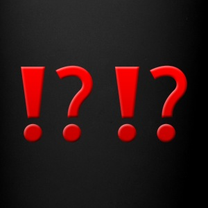 !? !? Question Mark Exclamation Mark Design - Full Color Mug