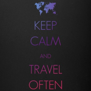 Keep calm and travel often - Full Color Mug