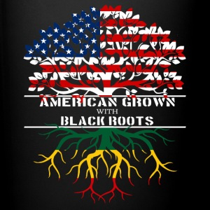 American Grown With Black Roots - Full Color Mug