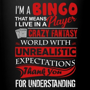 Bingo Player Shirt - Full Color Mug