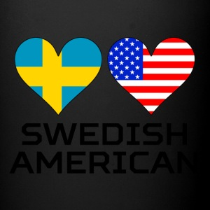 Swedish American Hearts - Full Color Mug