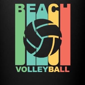 Vintage Beach Volleyball Graphic - Full Color Mug
