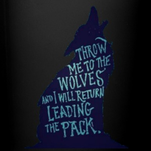 Wolf Pack Quote - Full Color Mug