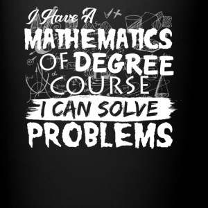 Mathematics Shirt - Full Color Mug