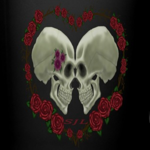 LOVE SKULLS ROSES - Full Color Mug