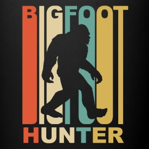 Vintage Bigfoot Hunter Graphic - Full Color Mug
