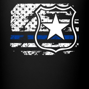 Police Flag Shirt - Full Color Mug