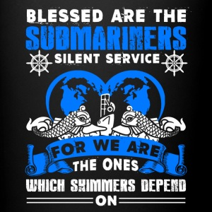 Blessed Are The Submariners Shirt - Full Color Mug