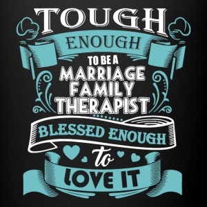 Marriage Family Therapist Shirt - Full Color Mug