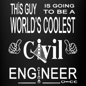 Coolest Civil Engineer Shirt - Full Color Mug