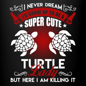 Super Cute Turtle Lady Shirt - Full Color Mug