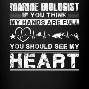 Marine Biologist Shirt - Full Color Mug