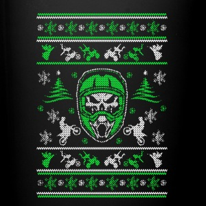 Motocross Ugly Christmas Shirt - Full Color Mug