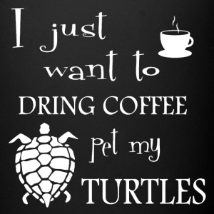 Pet My Turtle Shirt - Full Color Mug