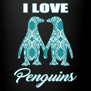 I Love Penguins Shirt - Full Color Mug