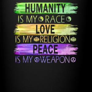 humanity_is_my_race - Full Color Mug