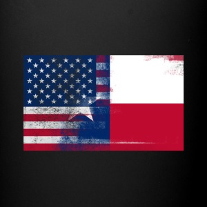 Texas American Flag Fusion - Full Color Mug