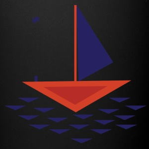 Boat abstract - Full Color Mug
