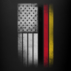 German American Flag - Half German Half American - Full Color Mug