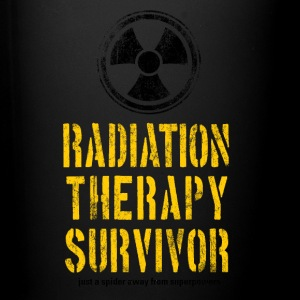 Radiation Therapy Survivor Yellow and Black - Full Color Mug
