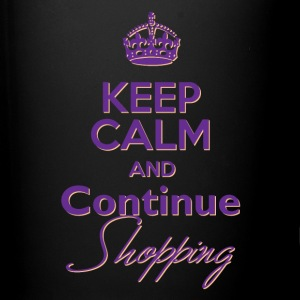 Keep Calm and Continue Shopping - Full Color Mug