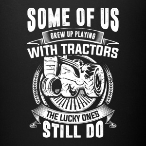 PLAYING WITH TRACTORS TSHIRT - Full Color Mug