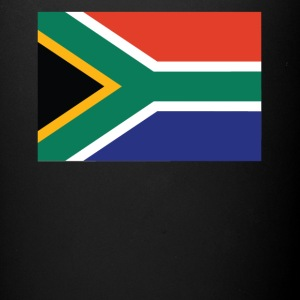 Flag of South Africa Cool South African Flag - Full Color Mug