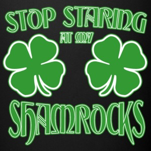 Stop starting at my shamrocks - Full Color Mug