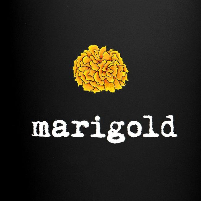 Marigold (white text)