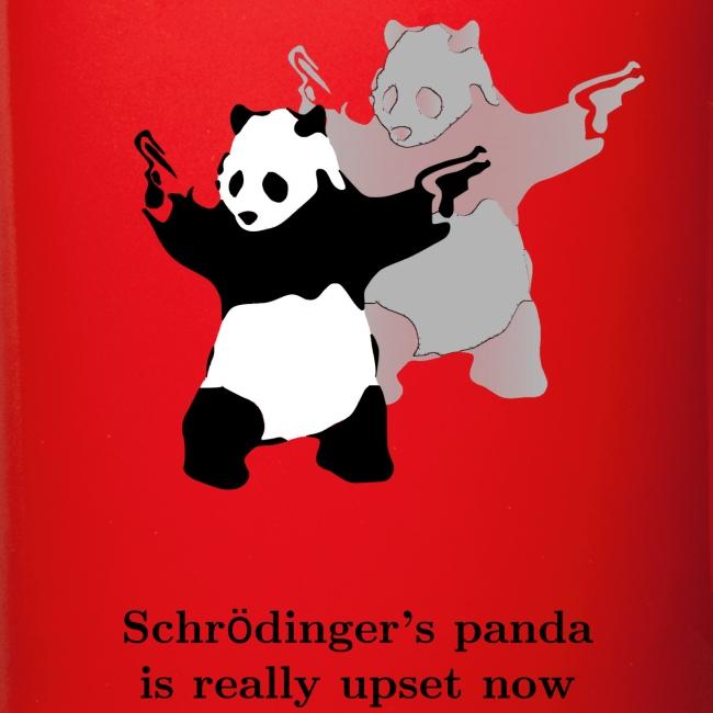 Schrödinger's panda is really upset now