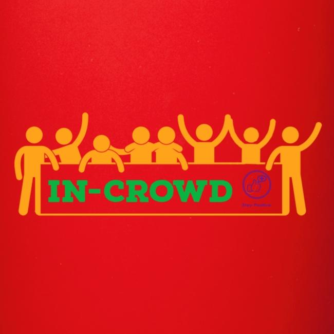 in crowd orange