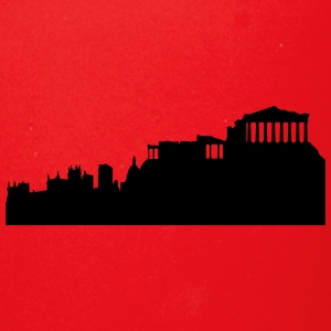 Athens silhouette - Full Color Mug