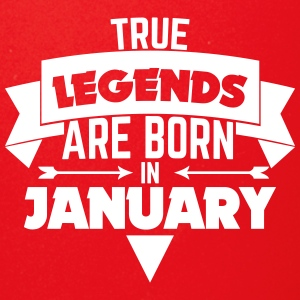 Legends Birthday Januaray - Full Color Mug