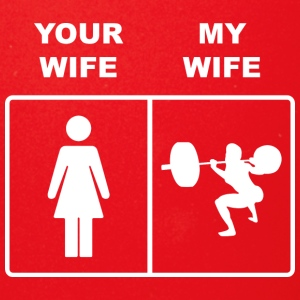 Your Wife My Wife Squats Lifting - Full Color Mug
