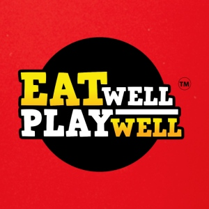 EAT WELL PLAY WELL - Full Color Mug