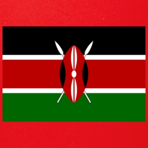 kenyan flag graphic - Full Color Mug