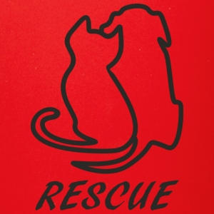 Rescue black - Full Color Mug