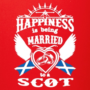 MARRIED TO A SCOT TEE SHIRT - Full Color Mug