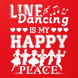 Line Dancing Is My Happy Place Shirt - Full Color Mug